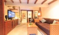 Lounge Area with TV - Villa Seriska Dua Seminyak - Seminyak, Bali