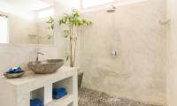 Bathroom with Shower - Villa Sukacita - Seminyak, Bali