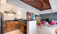 Living, Kitchen and Dining Area - Villa Yasmee - Seminyak, Bali