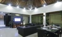 Indoor Living and Dining Area - Gili Pearl Villa - Gili Trawangan, Lombok
