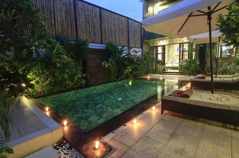 Swimming Pool - Gili Pearl Villa - Gili Trawangan, Lombok