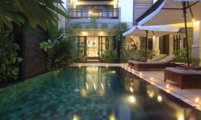 Pool Side - Gili Pearl Villa - Gili Trawangan, Lombok