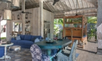 Indoor Living and Dining Area - Joglo House Lombok - Tanjung, Lombok