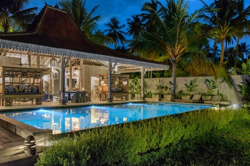 Pool Side - Joglo House Lombok - Tanjung, Lombok