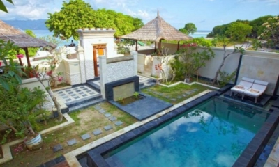 Gardens and Pool - Kokomo Resort - Gili Trawangan, Lombok