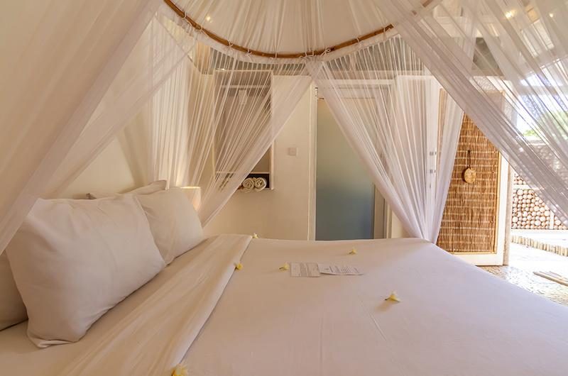 Bedroom - Les Villas Ottalia Gili Meno - Gili Meno, Lombok