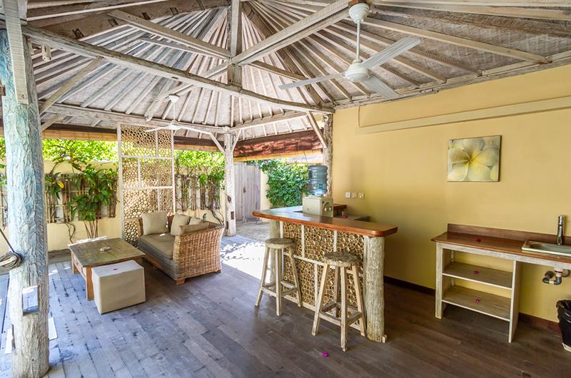 Semi Open Living Area - Les Villas Ottalia Gili Meno - Gili Meno, Lombok