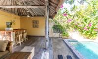 Gardens and Pool - Les Villas Ottalia Gili Meno - Gili Meno, Lombok