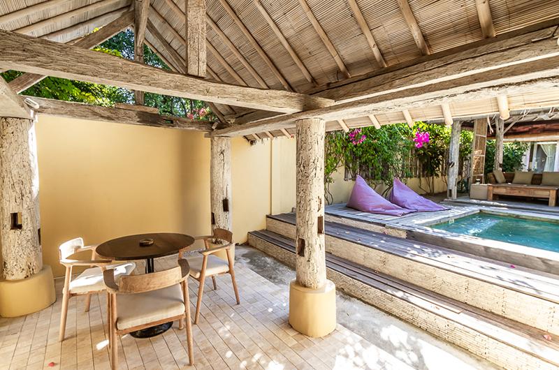 Pool Side - Les Villas Ottalia Gili Meno - Gili Meno, Lombok