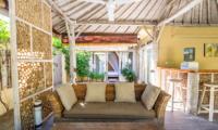 Semi Open Lounge - Les Villas Ottalia Gili Meno - Gili Meno, Lombok