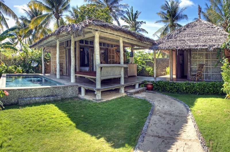 Gardens and Pool - Les Villas Ottalia Gili Trawangan - Gili Trawangan, Lombok