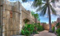 Gardens - Les Villas Ottalia Gili Trawangan - Gili Trawangan, Lombok