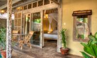 Bedroom and Balcony - Les Villas Ottalia Gili Trawangan - Gili Trawangan, Lombok