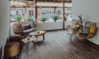 Seating Area - Majo Private Villas - Gili Trawangan, Lombok