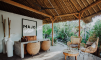 Open Plan Seating Area - Majo Private Villas - Gili Trawangan, Lombok