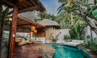 Sun Loungers - Majo Private Villas - Gili Trawangan, Lombok