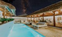 Pool Side - Majo Private Villas - Gili Trawangan, Lombok