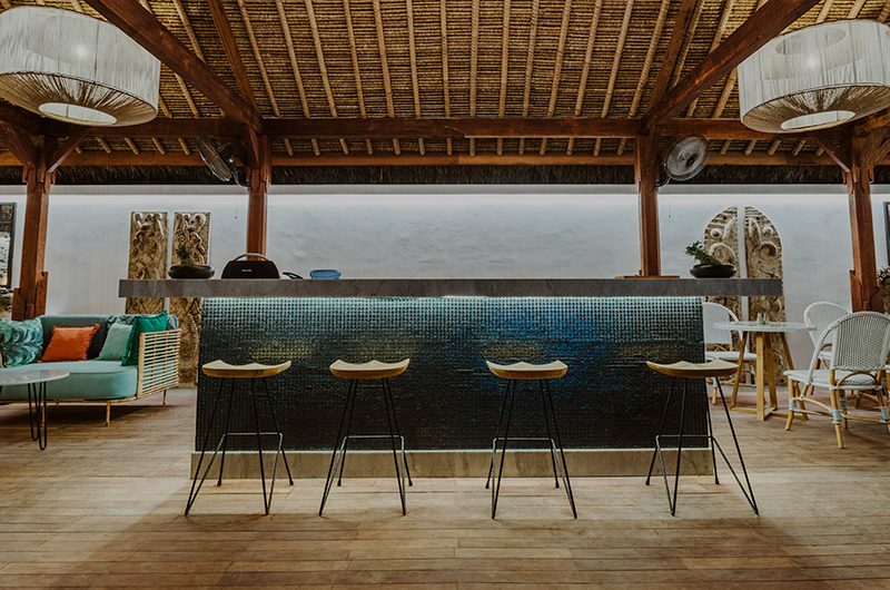 Breakfast Bar - Majo Private Villas - Gili Trawangan, Lombok
