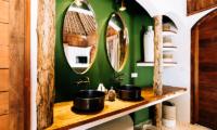 His and Hers Bathroom - Majo Private Villas - Gili Trawangan, Lombok