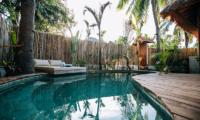 Swimming Pool - Majo Private Villas - Gili Trawangan, Lombok