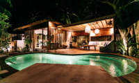 Night View - Majo Private Villas - Gili Trawangan, Lombok
