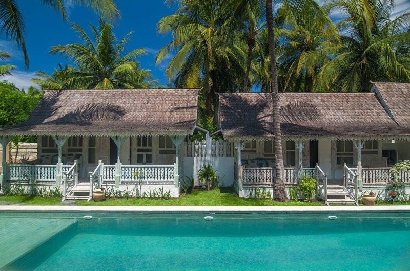 Swimming Pool - Palmeto Village - Gili Trawangan, Lombok