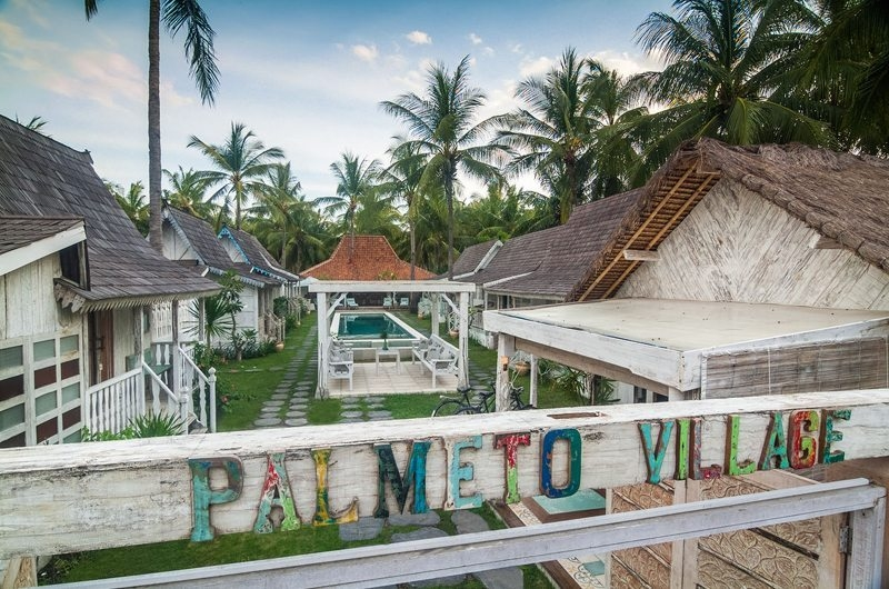 Outdoor Area - Palmeto Village - Gili Trawangan, Lombok