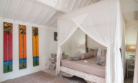 Bedroom with Wooden Floor - Palmeto Village - Gili Trawangan, Lombok