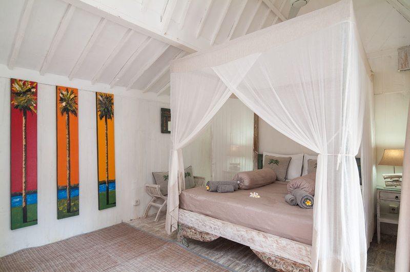 Bedroom with Wooden Floor - Palmeto Village - Gili Trawangan, Lombok