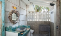 Bathroom with Shower - Palmeto Village - Gili Trawangan, Lombok