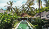 Gardens and Pool - Palmeto Village - Gili Trawangan, Lombok