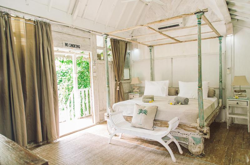 Four Poster Bed - Palmeto Village - Gili Trawangan, Lombok