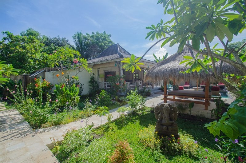 Gardens - Scallywags Joglo - Gili Air, Lombok