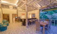 Indoor Kitchen and Dining Area - Scallywags Joglo - Gili Air, Lombok