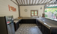 Kitchen with Utensils - Scallywags Joglo - Gili Air, Lombok