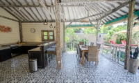 Kitchen and Dining Area - Scallywags Joglo - Gili Air, Lombok