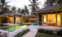 Night View - Sunset Palms Resort - Gili Trawangan, Lombok