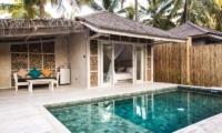 Bedroom View - Sunset Palms Resort - Gili Trawangan, Lombok