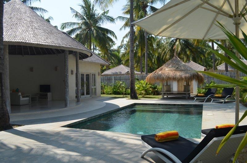 Pool - Sunset Palms Resort - Gili Trawangan, Lombok