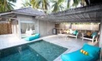 Pool Side - Sunset Palms Resort - Gili Trawangan, Lombok