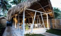 Dining Area - Sunset Palms Resort - Gili Trawangan, Lombok