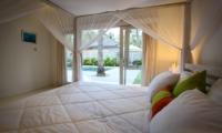 Bedroom with Pool View - Sunset Palms Resort - Gili Trawangan, Lombok