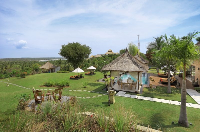 Gardens and Pool - The Jiwa - Lombok, Indonesia