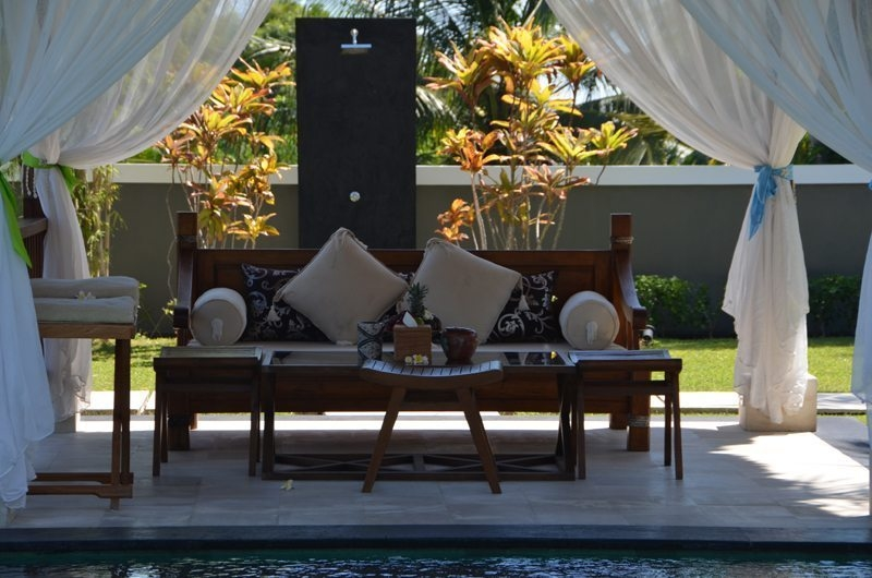 Pool Side Seating Area - The Jiwa - Lombok, Indonesia
