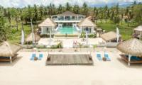 Bird's Eye View - Villa Gili Bali Beach - Gili Trawangan, Lombok