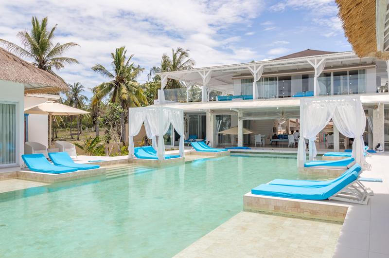 Pool Side - Villa Gili Bali Beach - Gili Trawangan, Lombok