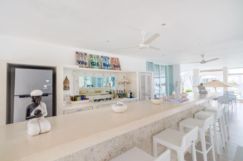 Kitchen Area - Villa Gili Bali Beach - Gili Trawangan, Lombok