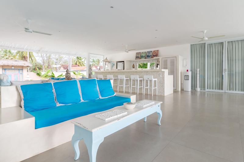 Living Area - Villa Gili Bali Beach - Gili Trawangan, Lombok