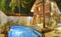 Night View - Villa Sama Lama - Gili Trawangan, Lombok