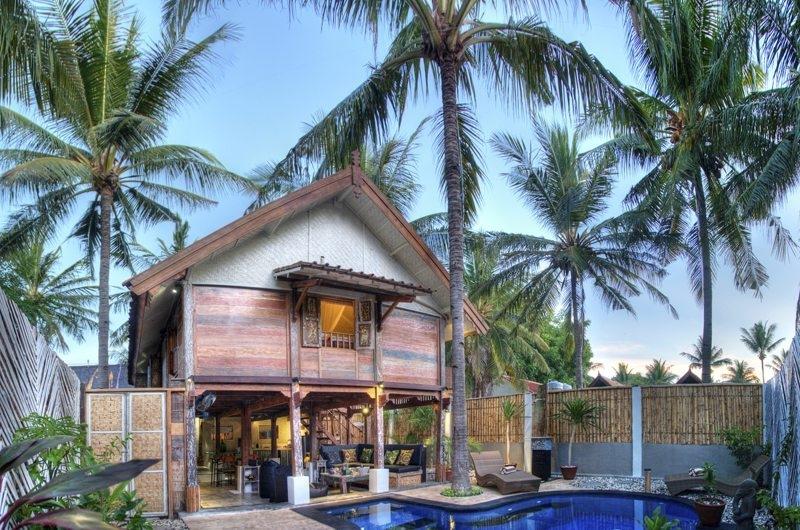 Outdoor View - Villa Sama Lama - Gili Trawangan, Lombok